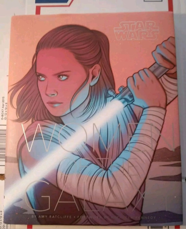 BRAND NEW - Star Wars: Women of the Galaxy by Ratc 0780cad1-2ffb-480a-9566-862d4b6c8682