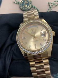 R./E./P./LiCa Rolex day-date gold watch diamond bezel Automatic Watch mens Watch Toronto, M5V 1A9