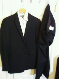 black notch lapel suit jacket Victoria, V8W 2G5