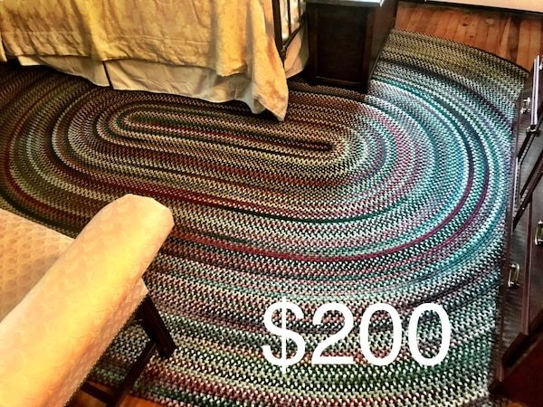 Used Braided Rug From Country Door Like New For Sale In