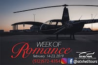 Helicopter Tour - Valentines Day Gifts