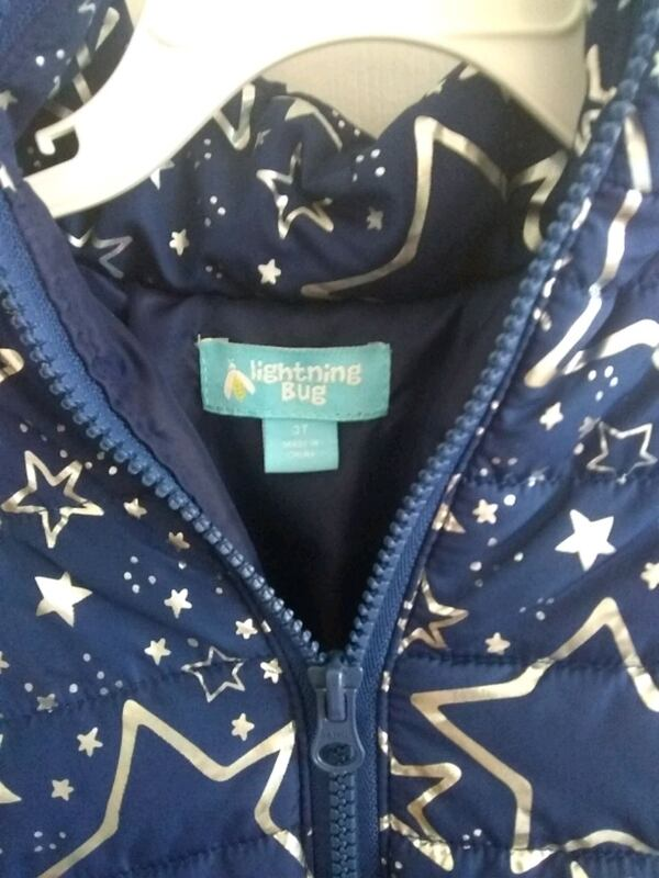 3T Toddler's Fall/Winter Jacket by Lightning Bug 110ad955-6f82-435e-9293-c8613144b124