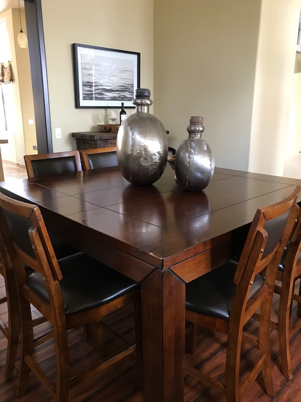Pleasing Solid Cherry Formal Dining Room Table And Chair Set Download Free Architecture Designs Grimeyleaguecom
