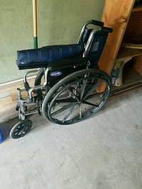 black folding wheelchair Glen Rock, 07452