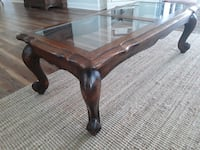 Coffee Table w/glass double side Top!