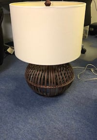 Table Lamp Rattan Base