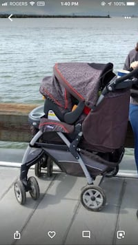 Chicco Cortina KeyFit 30 Stroller + rain cover and blanket Richmond, V7C 1C5
