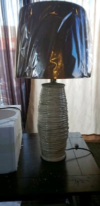 brown and white table lamp 2413 mi