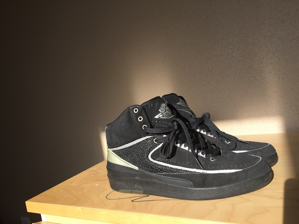 hot sale online 24ba2 10595 Air Jordan 2 (II) Retro – Black   Chrome