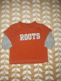 Baby boy roots shirt  Niagara Falls, L2H 1E3