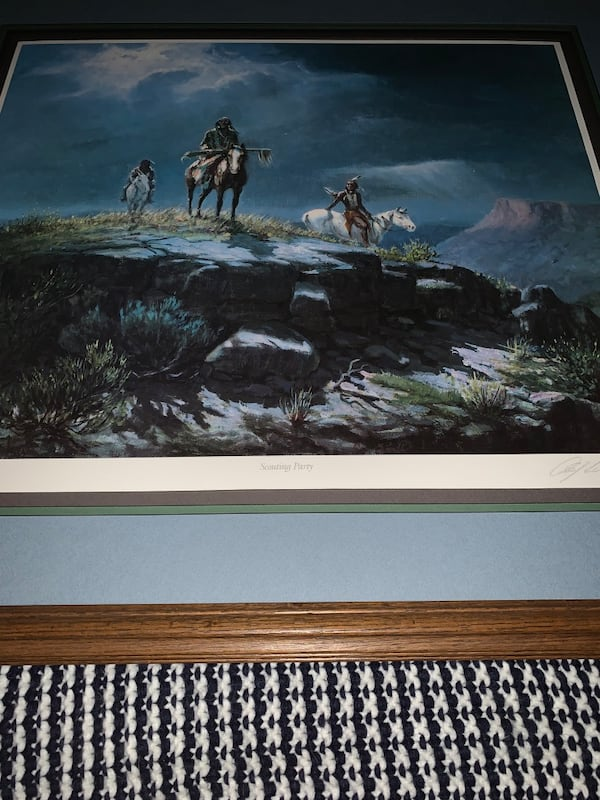 Vintage Painting with artist signature 70e5712d-d9f3-43cf-a50a-a4ae51168709