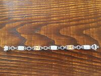 silver-colored chain bracelet Beverly, 01915