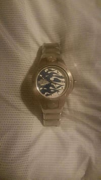 round silver-colored analog watch with link bracelet Albuquerque, 87107