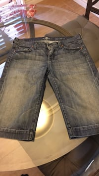 7 for all mankind shorts 549 km