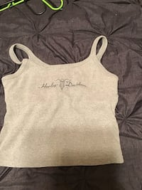 gray and white tank top Odessa, 79762