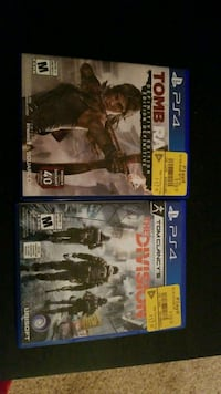 Two PS4 games  Sherwood Park, T8A