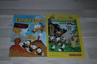 8 Donald Duck blader. 1 Koster 15,-. Alle for 70,-