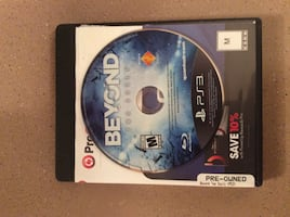 Beyon ps3 game disc and case