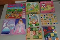 toddler's assorted learning books Saint-Charles-Borromée, J6E 2A5