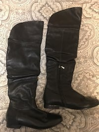 Geox Pebbled Leather Thigh High Boots (size 39) Edmonton, T6R 3J1