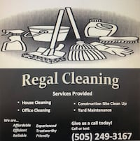 House cleaning, Office Cleaning, Construction Site Clean up, and more! Albuquerque
