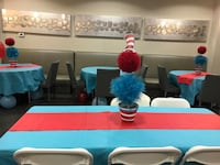 Cat in the hat Centre pieces Vaughan, L4H 3L4