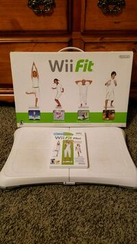 Wii Fit Plus w/balance board for Nintendo Wii or U