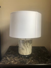 White and gray table lamp (2-piece set) Phoenix, 85051