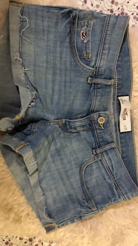 Hollister Shorts w27/5 36 38 Jeans Denim Uslar, 37170