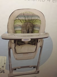 Graco blossom 4 in 1 seating high chair New Westminster, V3M 6X3