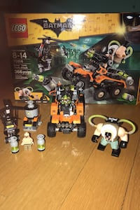 LEGO Batman movie set number 70914 bane toxic truck attack  Bloomfield, 07003