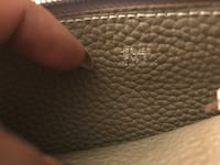 Hermès Dogon combined wallet and billfold