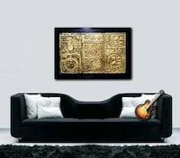 Beautiful Antique Look Abstract Painting