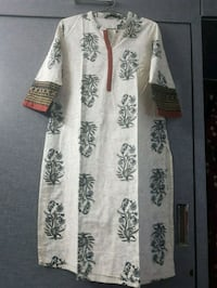 white and black floral long-sleeved dress Ahmedabad, 380059