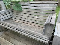 Outdoor benches wood