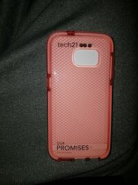 pink Tech21 Our Promises smartphone case