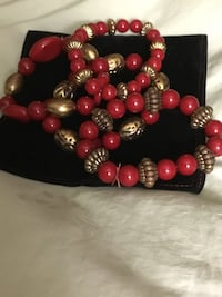 red and gold bracelets (3) Gaithersburg, 20882