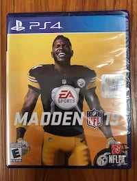NEW in sealed wrapping MADDEN 19 PS4 333 mi