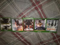 five Xbox One games Sacramento, 95818