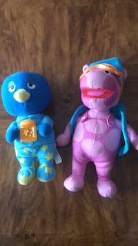 Two blue and pink plush toys Brampton, L6V 2P6