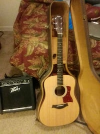 Guitar Taylor 110e with Peavey amp Clarkston, 48348