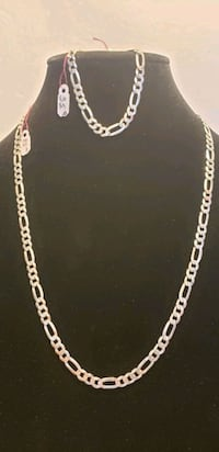 925 sterling silver chain and bracelet