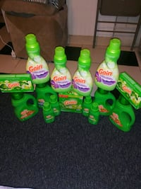Gain detergents $35 for all Pick up only