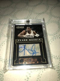 Kyrie Irving autograph rookie card Placentia, 92870
