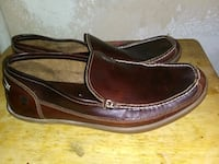 Timberland Men's Leather size 12 Slip-On Shoes