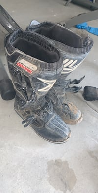 Motocross boots size 9.5