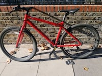 red and black hardtail mountain bike Greater London, NW10 5NQ