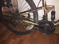 black and red hardtail mountain bike Kingsport, 37660