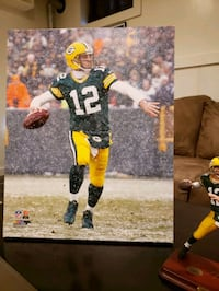 Aaron Rodgers canvas print  Bel Air, 21015