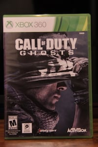 Call of Duty Ghost Xbox 360 Vaughan, L4L 2X7